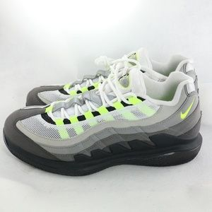 low priced 4e9f4 3af6d New NIKE Zoom Vapor RF x Air Max 95 Neon NWT